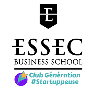 ESSEC - Club Génération Startuppeuse mécène de RED for Executive Women®